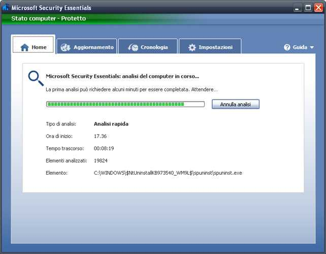 Come attivare l'anti-Adware di Windows Defender su Windows 10