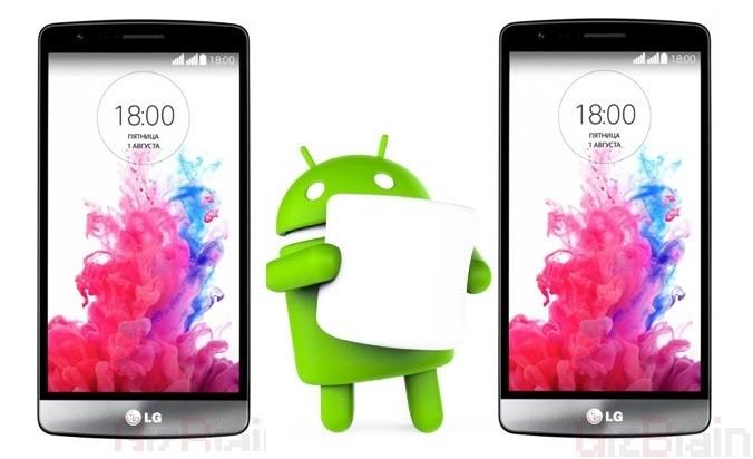 LG G3, ufficiale il rilascio di Marshmallow, si inizia dalla Polonia