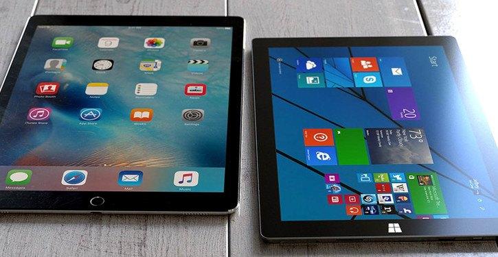 Apple iPad Pro vs Microsoft Surface Pro 4