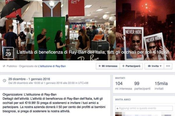 facebook-virus-occhiali-ray-ban