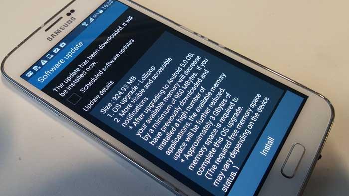 Nuovi aggiornamenti software Samsung Galaxy S6 ed altri