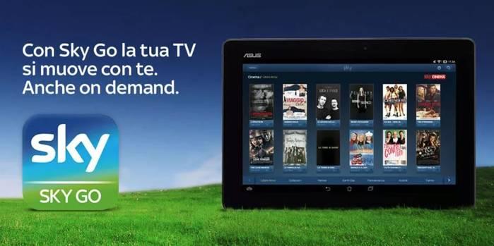 Asus Annuncia Larrivo Di Sky Go Per Asus Zenfone 2