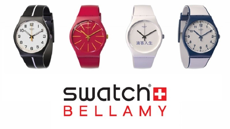 Swatch lancia Bellamy: uno smartwatch NFC per i pagamenti contactless