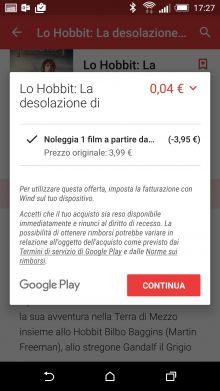 Promozione Wind: film a 3 centesimi su Google Play