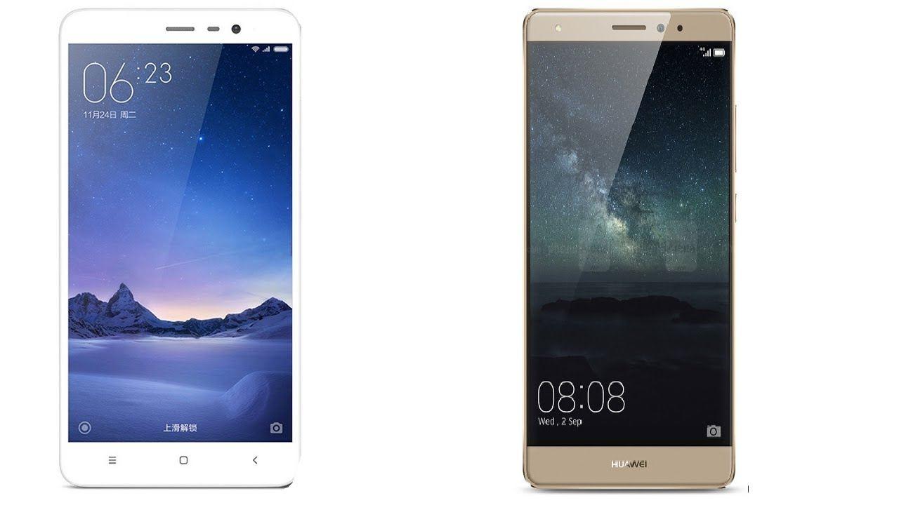 Huawei Mate S vs Xiaomi Redmi Note 3