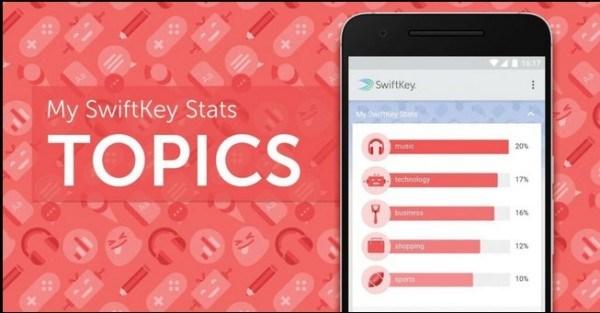 Novità SwiftKey: arriva SwiftKey Stats, con nuove emojis e le statistiche personali | Download