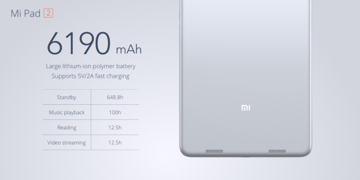 Xiaomi Mi Pad 2 vs Apple iPad Mini 4