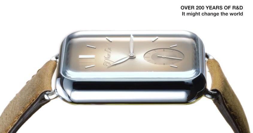 CES 2016 – Moser Swiss Alp Watch, l'orologio che imita Apple Watch