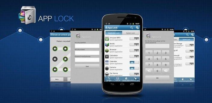 AppLock, proteggere le proprie app con le impronte digitali