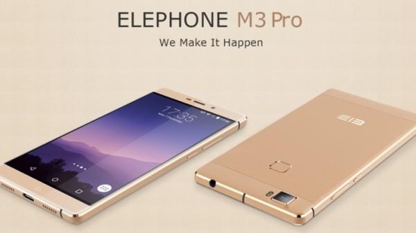 Elephone M3 ed Elephone S3 presentati ufficialmente