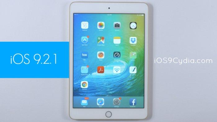 iOS 9.2.1, rilasciato il nuovo aggiornamento