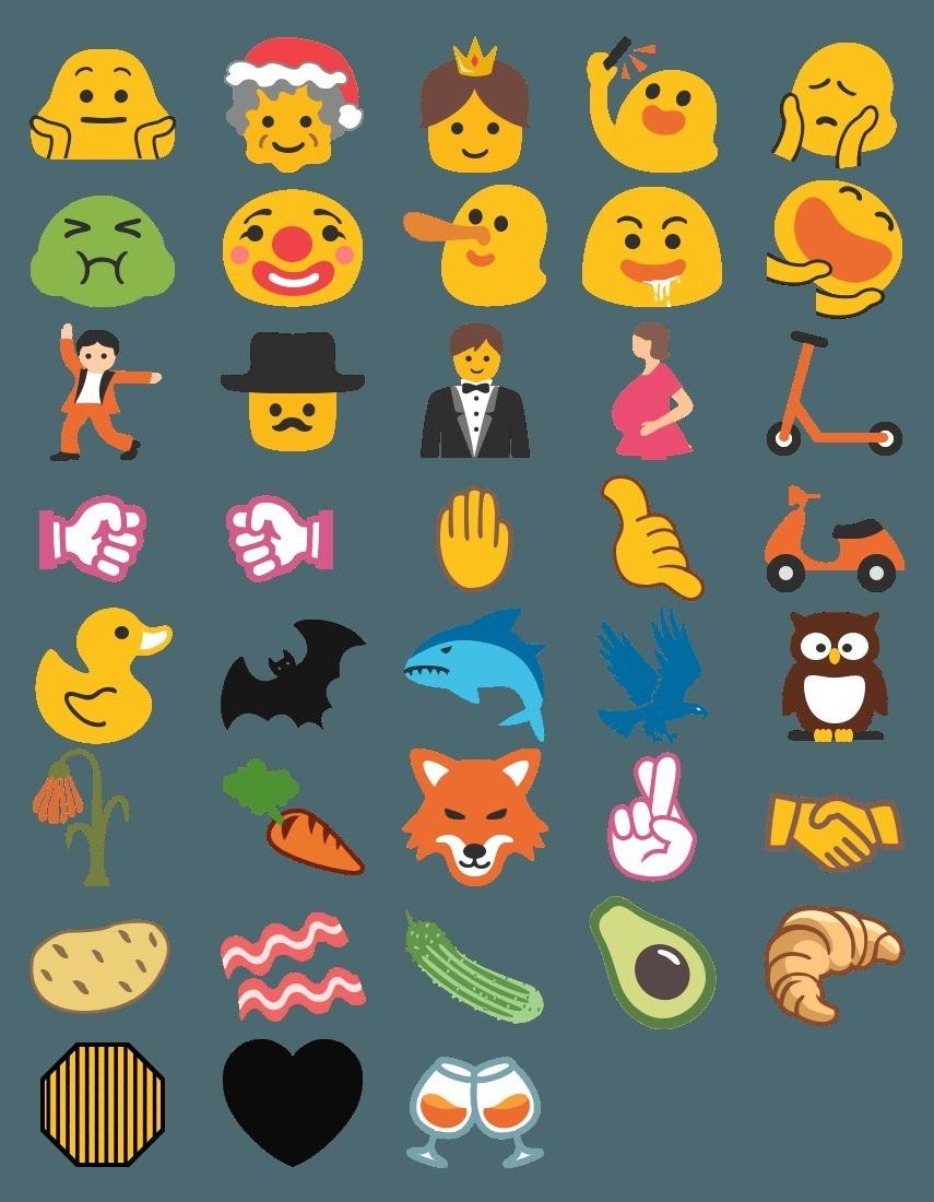 Nuove emoticon del 2016