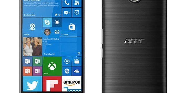 Acer Liquid Jade Primo: il flagship Windows 10 Mobile appare in video
