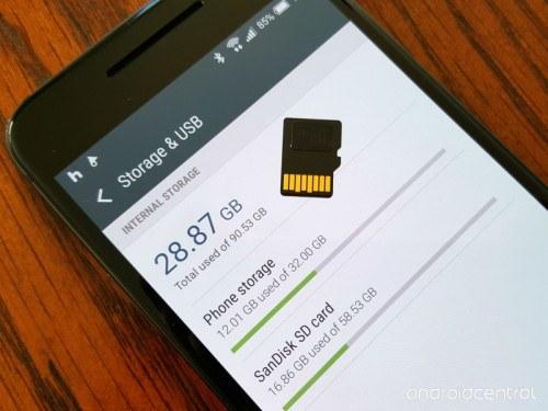 Galaxy S7 ed LG G5 non supportano la microSD come memoria predefinita