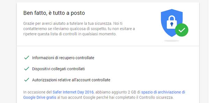 2 GB gratis su Google Drive per il Safer Internet Day 2016