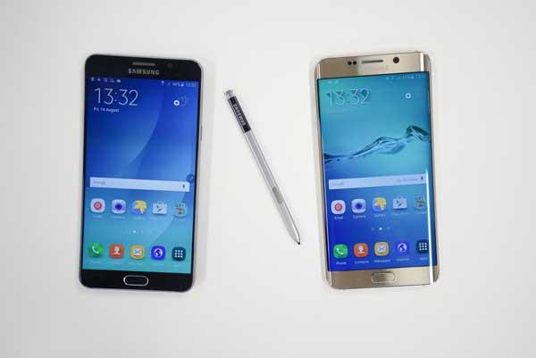 Galaxy S6 Edge Plus vs Galaxy Note 5