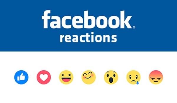 Facebook porta le emozioni sul social, arrivano le Reactions