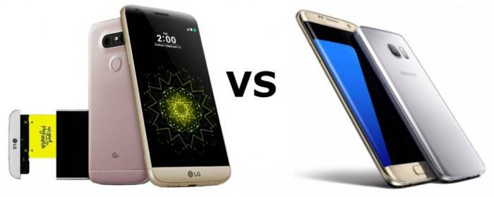 LG G5 vs Galaxy S7 vs Galaxy S7 Edge, top di gamma 2016 a confronto