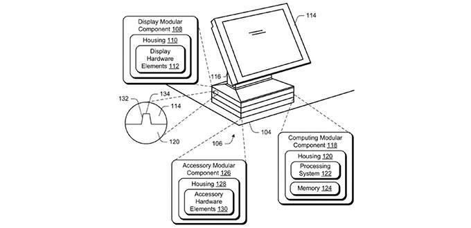 Il PC Microsoft che assomiglia ai lego: ecco il brevetto