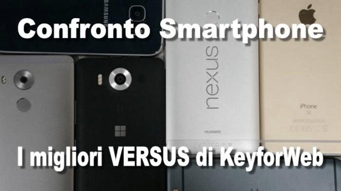 Confronto smartphone, i migliori versus di Newsdigitali