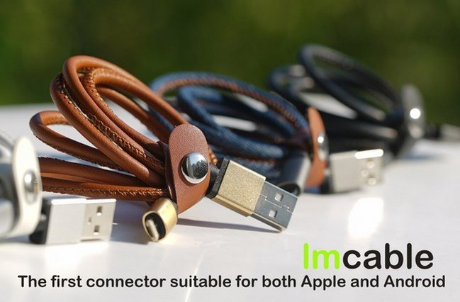 LMCable per iPhone ed Android, il primo cavo universale per la carica di Apple ed Android