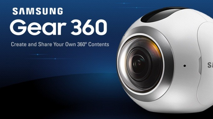 Samsung Gear 360 disponibile anche in Italia