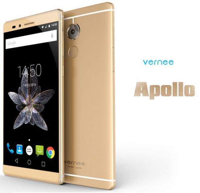 Vernee Apollo, smartphone android con SoC Helio X20 e RAM da 6 GB