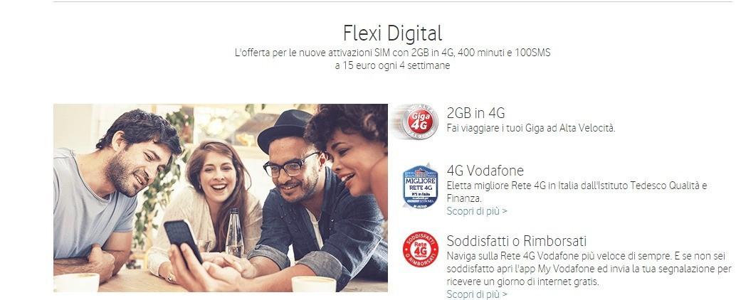 Vodafone regala 1GB di traffico Internet a tutti gli Under 30