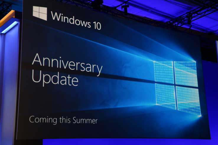 Windows annuncia l'Anniversary Update. In arrivo in estate gratis per tutti