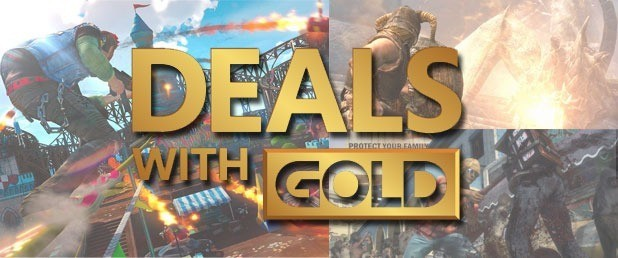Deals With Gold, le offerte Xbox Live valide dal 15 Marzo 2016