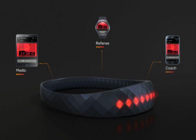 Samsung BrainBrand, la fascia per sport estremi
