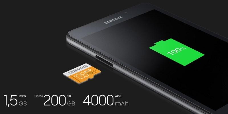 Samsung Galaxy Tab A 2016 è ufficiale: caratteristiche e prezzi