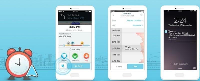 Waze si aggiorna indicando a che ora partire per un viaggio sereno | Download