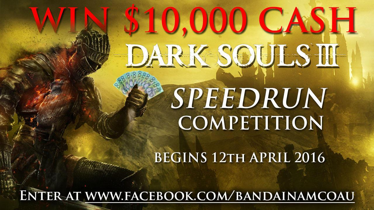 Dark Souls III Speed Competition! Chi finisce il gioco nel minor tempo possibile vince diecimila dollari!