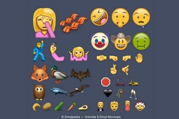 iOS 10: ecco alcune delle 74 nuove emoji in arrivo