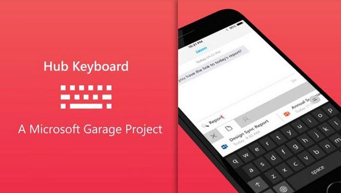 Hub Keyboard, la tastiera Microsoft nata per condividere, sbarca su iOS