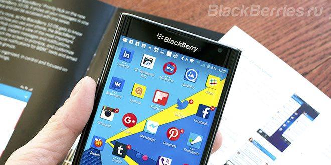 Android Marshmallow per BlackBerry Priv debutta entro maggio