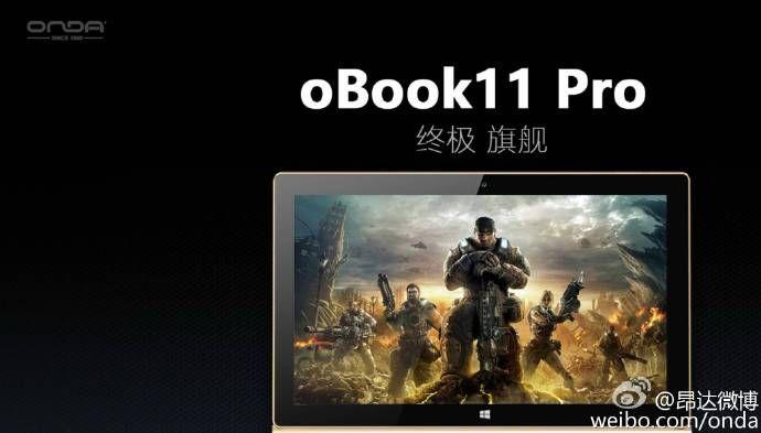 Onda oBook 11 Pro: il 2 in 1 che somiglia ad un Surface Book