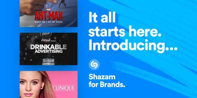 Shazam rende obsoleti i QR Code e reinventa la pubblicità con Shazam for Brands
