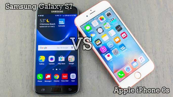Migliori smartphone – Samsung Galaxy S7 vs Apple iPhone 6s: confronto con foto!