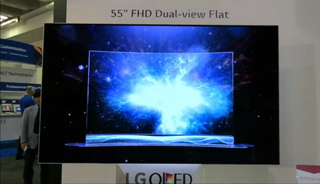 LG, un nuovo video mostra il nuovo OLED TV 55″ Dual-Screen
