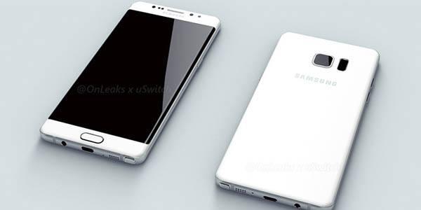 Samsung Galaxy Note 7: ecco le prime immagini render