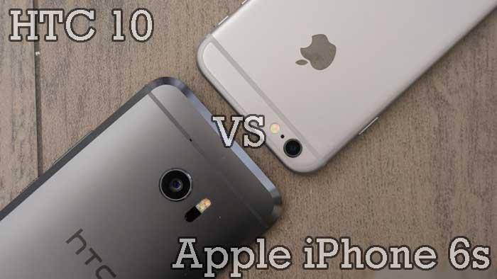 Migliori smartphone – HTC 10 vs Apple iPhone 6s: confronto con foto!