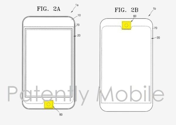 Samsung copia Apple riprendendo il tasto Home con sensore di impronte di iPhone per i prossimi Galaxy?