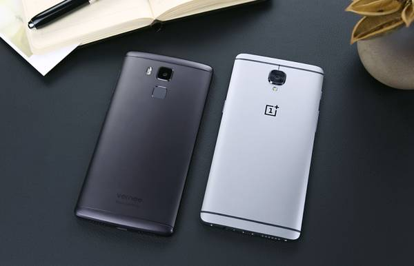 Vernee Apollo Lite vs OnePlus 3: aspetto e design a confronto