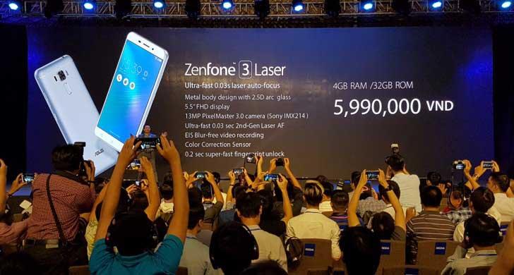 ASUS ZenFone 3 Max debutta ufficialmente con ZenFone 3 Laser