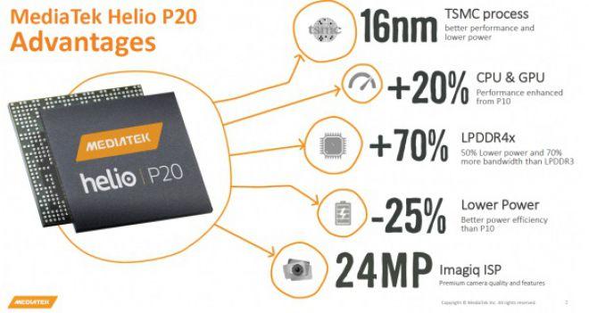 Helio P20 appare nei primi benchmark online