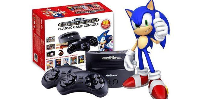 SEGA Mega Drive torna nel presente per celebrare i 25 anni di Sonic