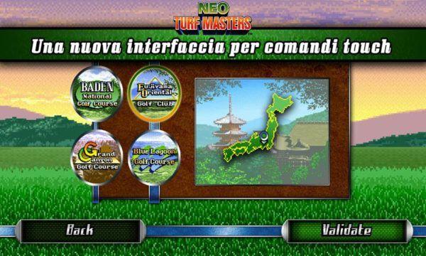 Neo Turf Masters, il gioco di golf di Neo Geo risorge su Android | Download