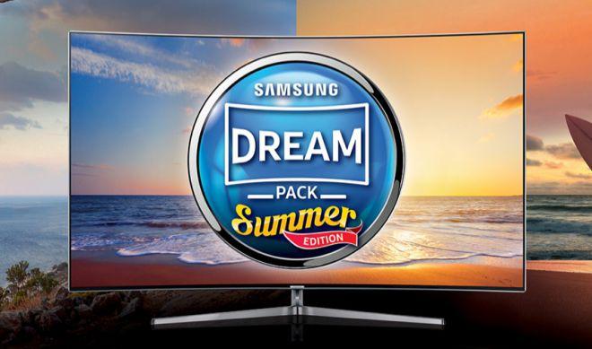 Samsung TV regala ActionCam, Sky TV o CAM TiVùSat se acquisti un televisore